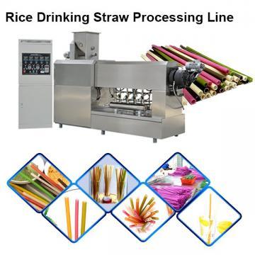 New Biodegradable Rice Straw Machine Edible Straw Machine Eatable Straw Machine