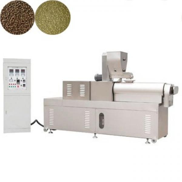 Pet Dog Cat Poultry Chicken Fish Feed Making Extruder Animal Feed Pellet Machine #1 image